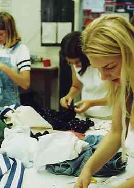 Fashion show - recycling