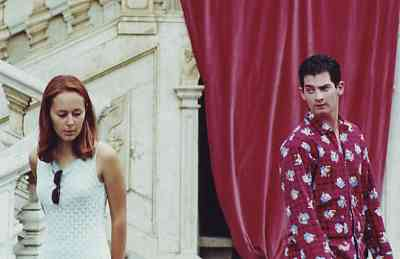 Paul and Veronica as Hamlet and Ophelia